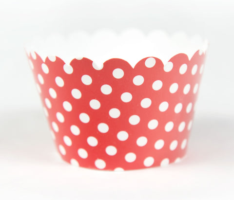 Cupcake Couture Polka Red