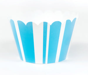 Cupcake Couture Stripe Blue