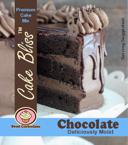 Cake Bliss 12.5kg Chocolate