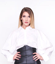 CELINE - White Shirt Blouse