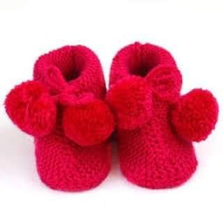 Knitted boots (3-6 Months)