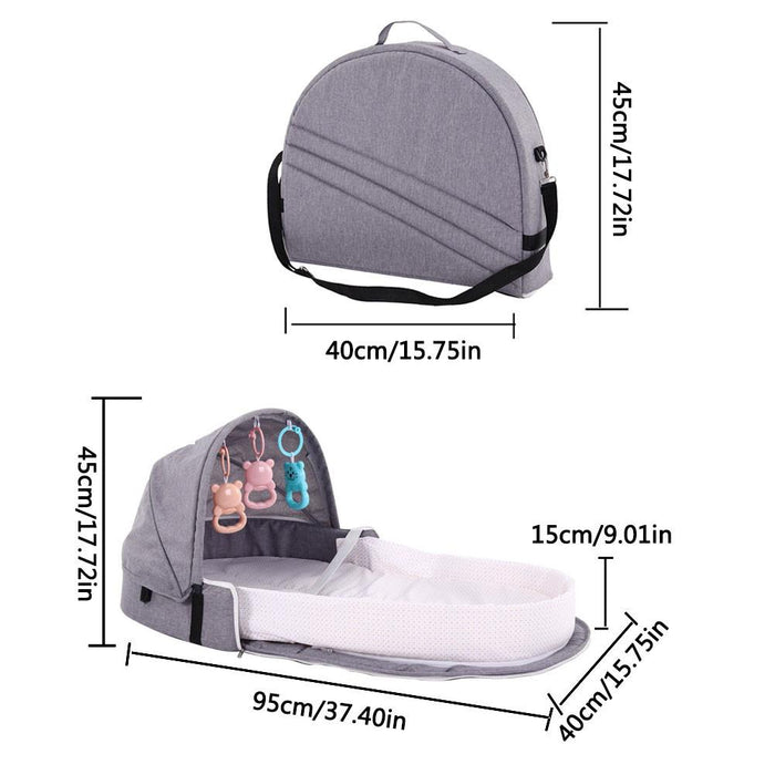Multi-functional Folding Portable Baby Bed