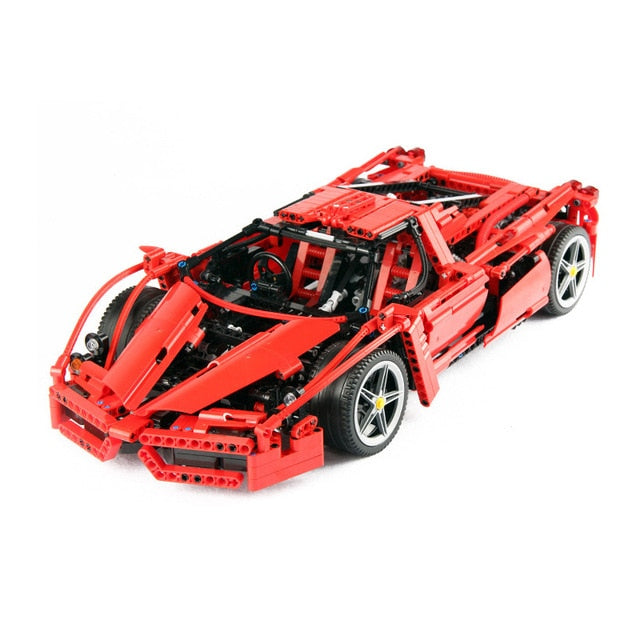 Ferrari Enzo Super Car 1:10 Scale (Technic Vehicles Building Blocks)