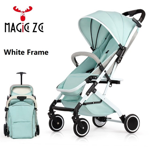 Foldable baby buggy