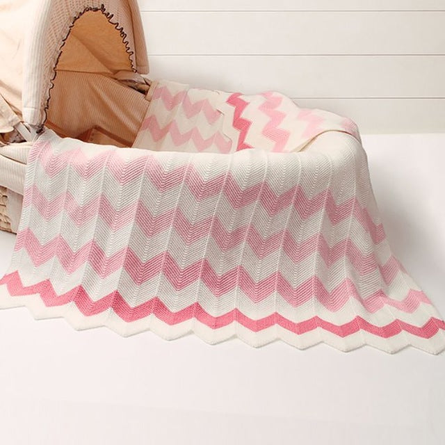 Newborn Baby Knitted Blanket