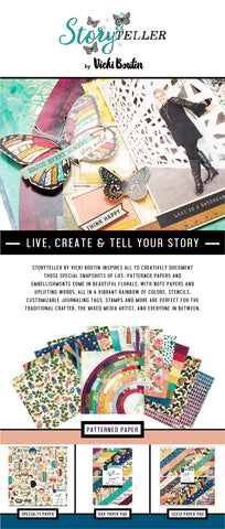 New Storyteller Collection By Vicki Boutin for American Crafts!