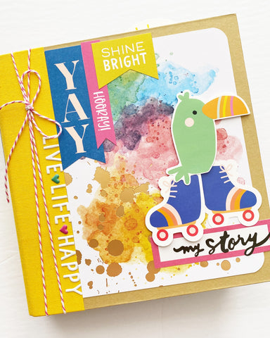 Shine Bright 6x8 Interactive Album Kit