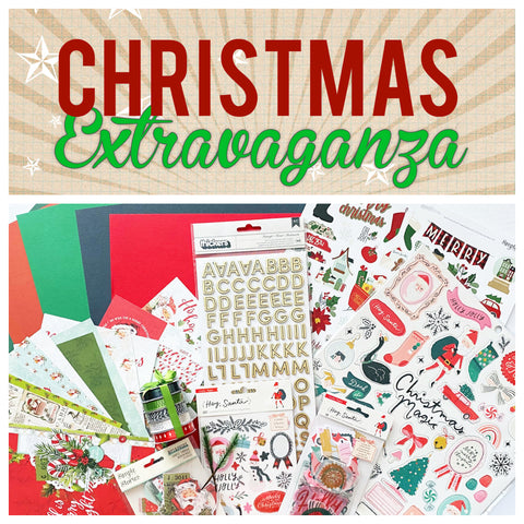 Pre-Sale- Holiday Extravaganza Interactive Album and Layout Event