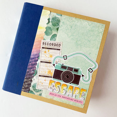 Escape (Let's Wander) 6x8 Interactive Album