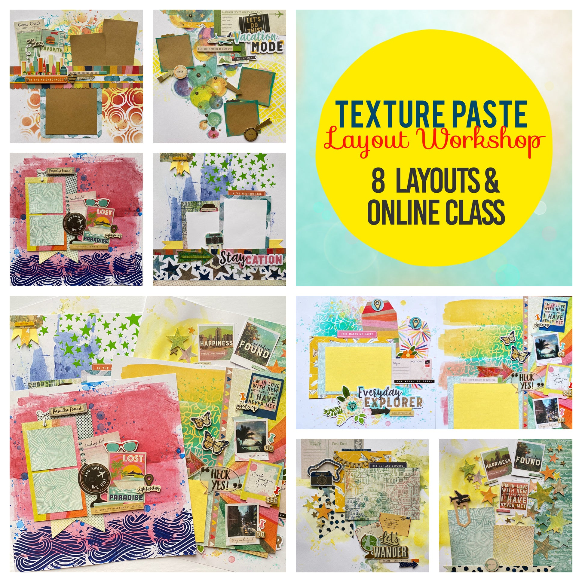 Texture Paste Layout Class