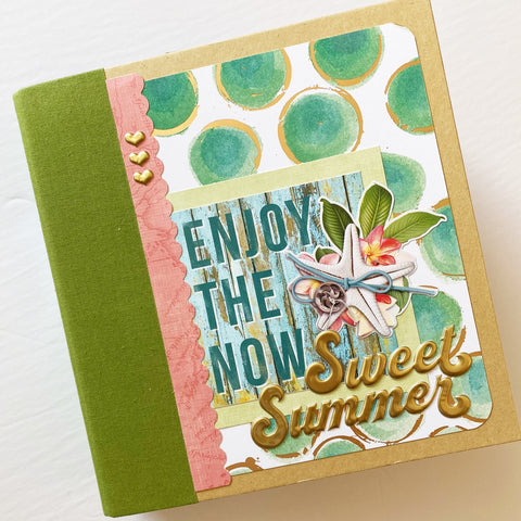 Enjoy the Now 6x8 Interactive Album Kit