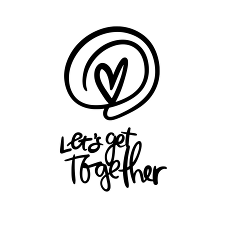 Let's Get Together Card & 6x8 Cutfile