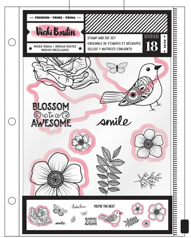USED- Blossom to Awesome Stamps Class Set