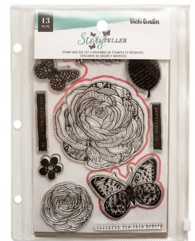 Storyteller Stamp and Die set- Wonderful