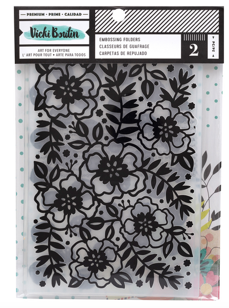 VB Embossing folder 2 Pack