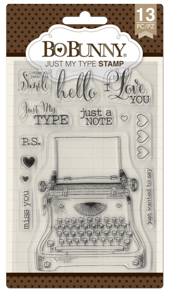 Just My Type Stamp Set