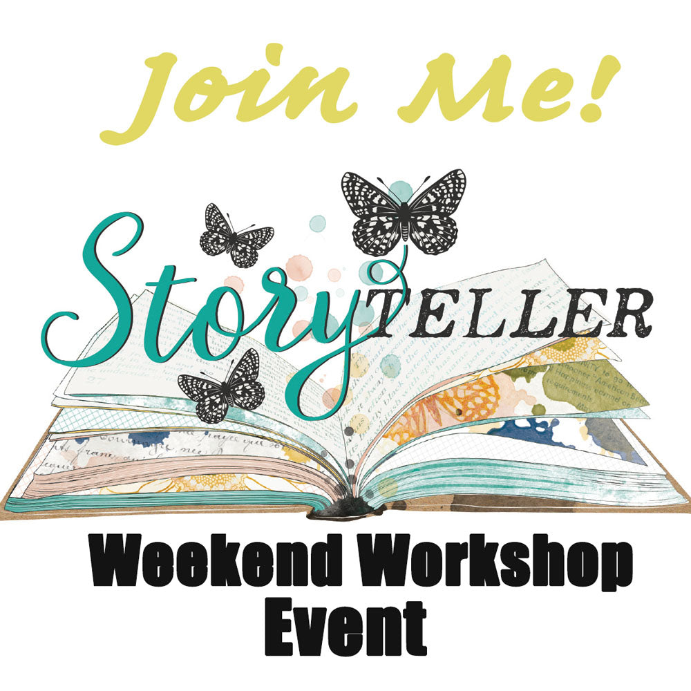 Storyteller Weekend Event- Interactive Album and Layout Workshops