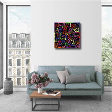 "Load image into Gallery viewer, 20 x 20"" Canvas Print - ""Spectrum"""