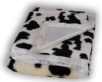 Baby blanket-  What Does the Cow Say?