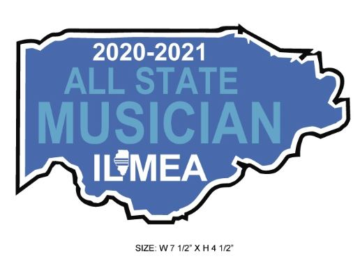 ILMEA 2021 All State Custom EMBROIDERED PATCH