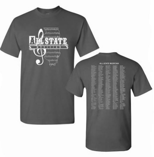 Vintage Logo ILMEA All State Short Sleeve T-Shirt