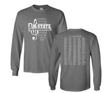 Load image into Gallery viewer, Vintage Logo ILMEA All State Long Sleeve T-Shirt