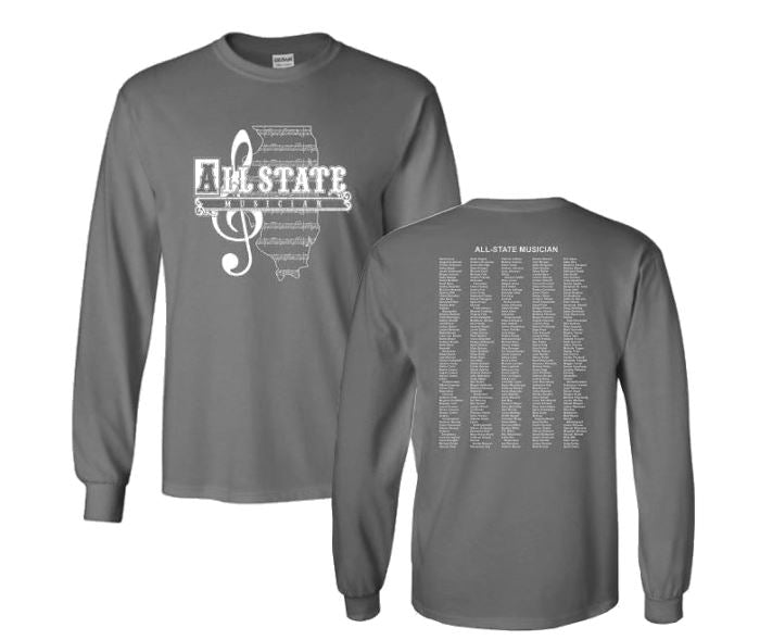 Vintage Logo ILMEA All State Long Sleeve T-Shirt
