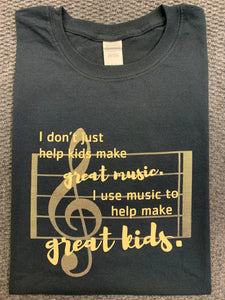 T-Shirt: Great Music......