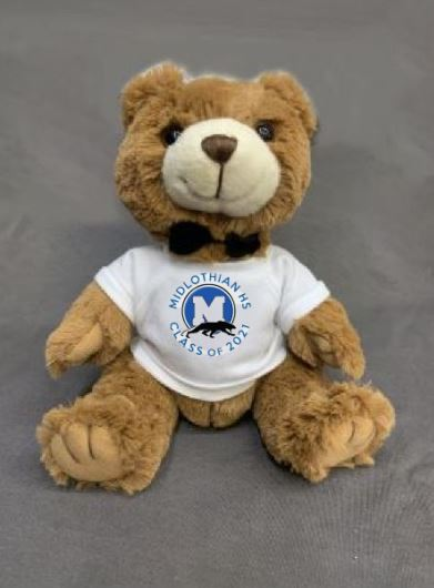 Midlothian High School Class of 2021 Stuffed BEAR