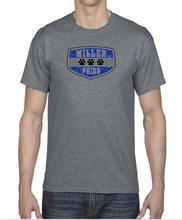 Load image into Gallery viewer, Short Sleeve T-Shirt in Youth and Adult Sizes with Miller Logo