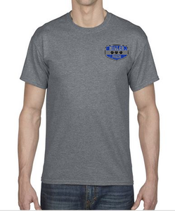 Short Sleeve T-Shirt in Youth and Adult Sizes with Miller Logo