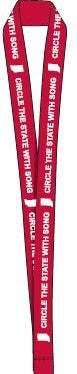 Circle the State with Song Custom LANYARD