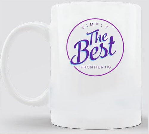 Frontier High School Simply the Best COFFEE MUG