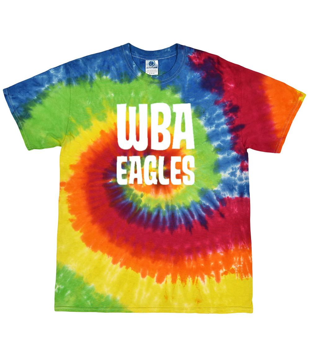 Willie Brown Eagles Tie Dye Tee