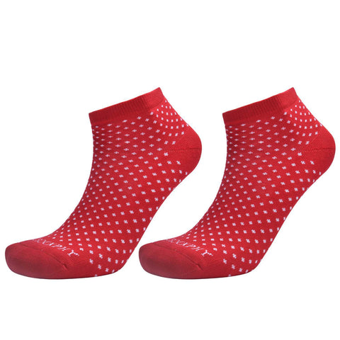 Ankle Socks - Firey Red