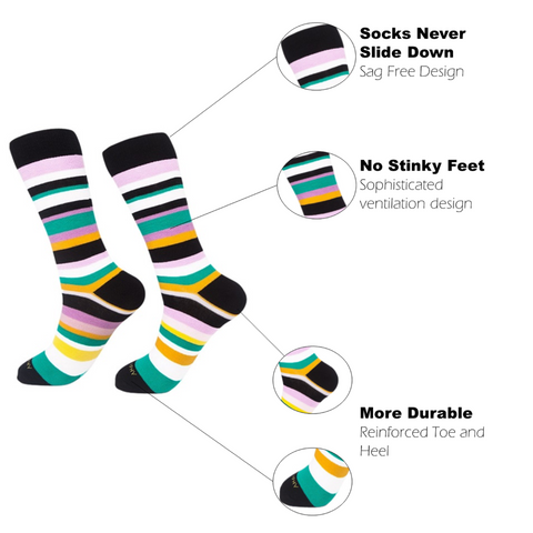 Sock of the Month Club-18 Months Prepaid-5 Months FREE