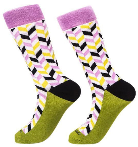 Socks-Very-Herringbone-Cool-Patterns-Crew-Socks-pop