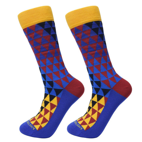 Assorted Socks (4 Pairs) - Flashy Colors