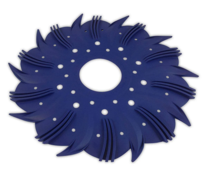 Custom Molded Product Pool Cleaner Disk Blue - 25563-809-000