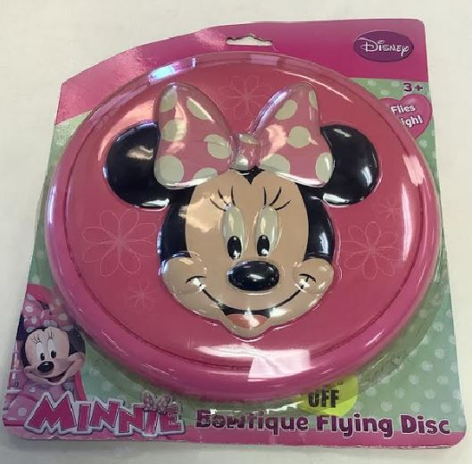 Disney Minnie Mouse Bowtique Flying Disc - 27375
