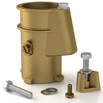 Permacast Bronze 4 inch Anchor Socket - PS-4019-BC