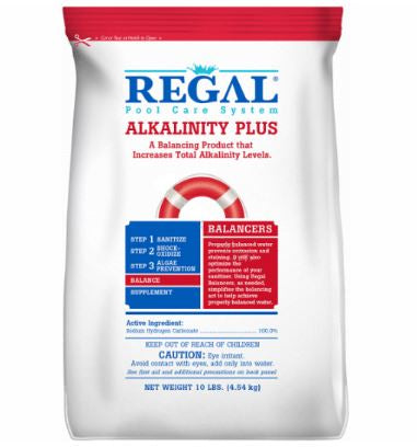 Regal Pouch 10 Lbs Alkalinity Plus - PSC10-RG