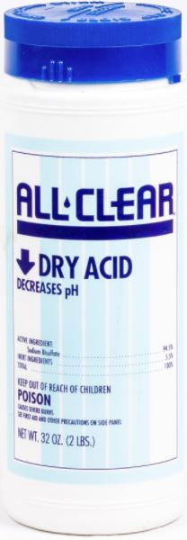 All Clear Dry Acid 2 lb - AQT1097