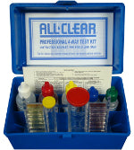 All Clear - 4 Way Water Test Kit - AQT2026