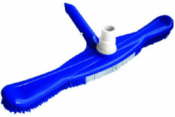 "PoolStyle Deluxe Series 18"" Vac Brush with Hose Swivel - PS303"