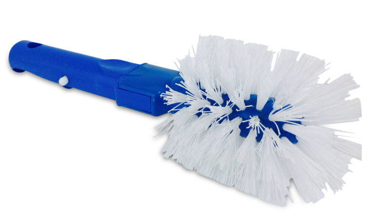 PoolStyle Corner Brush Poly Bristles with EZ Clip Handle - PS405