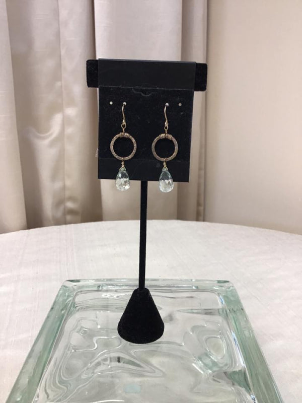 Bronzetone Earrings - Fashion Exchange Consignment