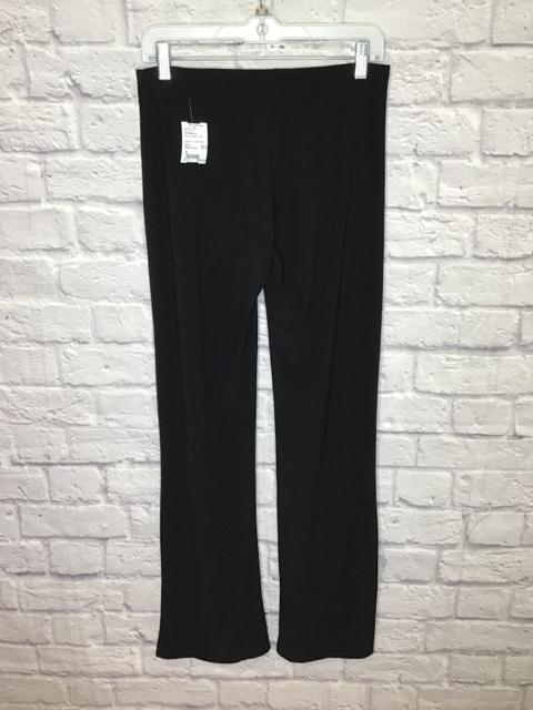 BCBGMaxAzria Size S Black Polyester Solid Pull-on Pants