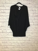 Vince Women's Size M Black Cashmere Sweater