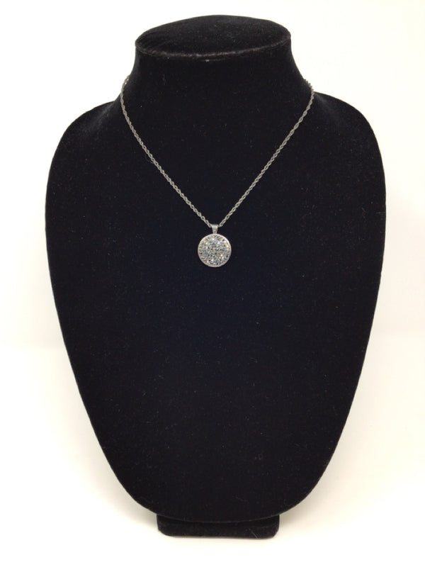 Lia Sophia Gunmetal Gray Necklace